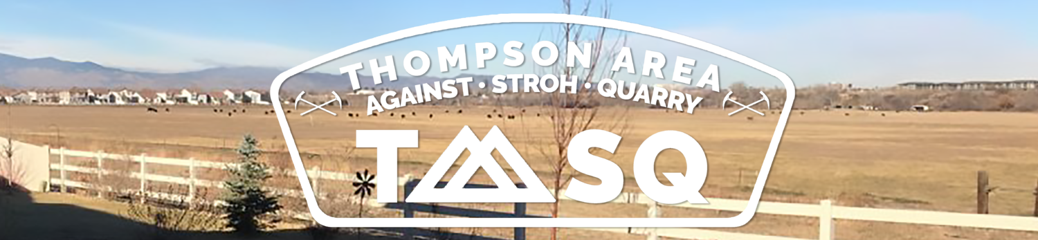 Thompson Area Against Stroh Quarry